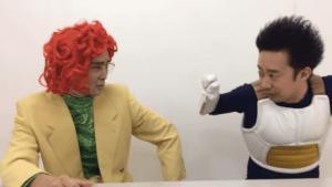 野沢雅子とベジータ