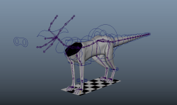 Here's the dog rig's current progress. There's still work to do, but he's coming along.