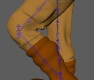 Fixing Knees with more joints, hips and shoulder 180 locks.