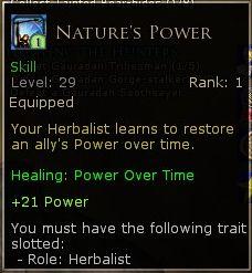 Herbalist Skill #1