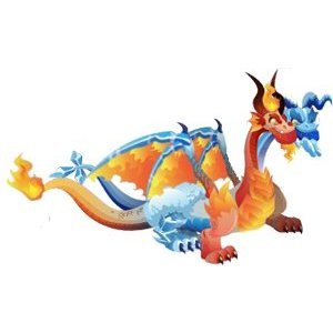 How to Breed Ice Fire Dragon in Dragon City  Dragon City
