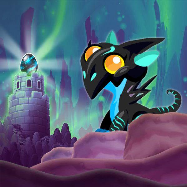 Neon Dragon Information in Dragon City