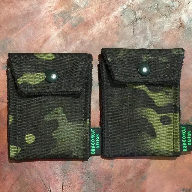 Black multicam pouches Ive got 2 of each size Thesehellip