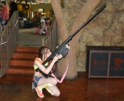 Misty ~ Pokemon (yes, with a massive gun because reasons)
