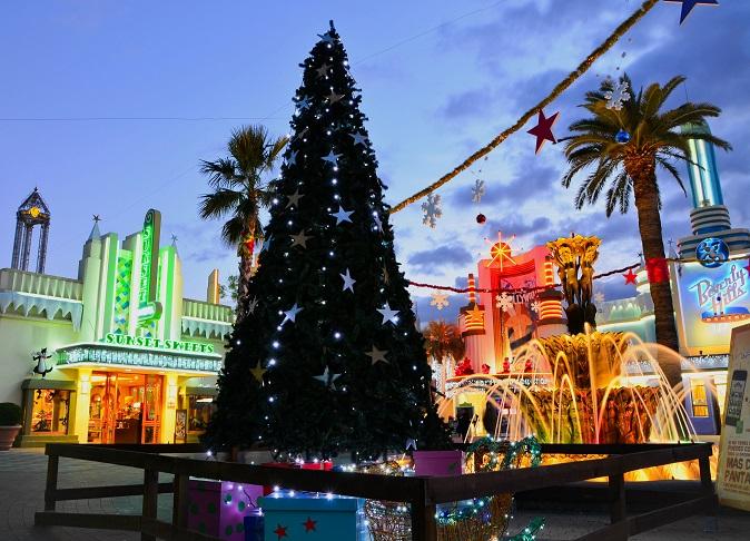 Parque Warner - Navidad 2