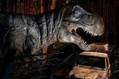 Tyrannosarurus-Rex. Madrid con niños, dragones y unicornios