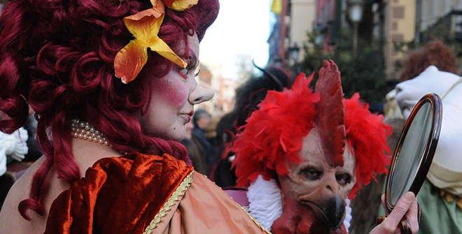 Carnaval en Madrid.