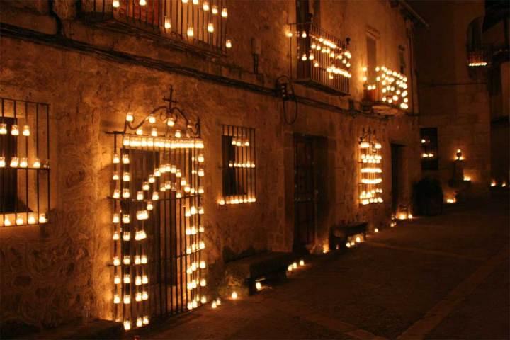 Imagen de la noche de las velas.
