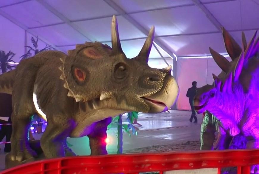 Dinosaurs Tour. Planes con niños en Madrid.