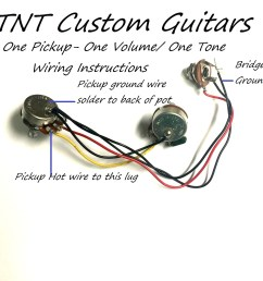 wiring harness with one humbucker pickup one twin coil pickup one [ 1500 x 1500 Pixel ]
