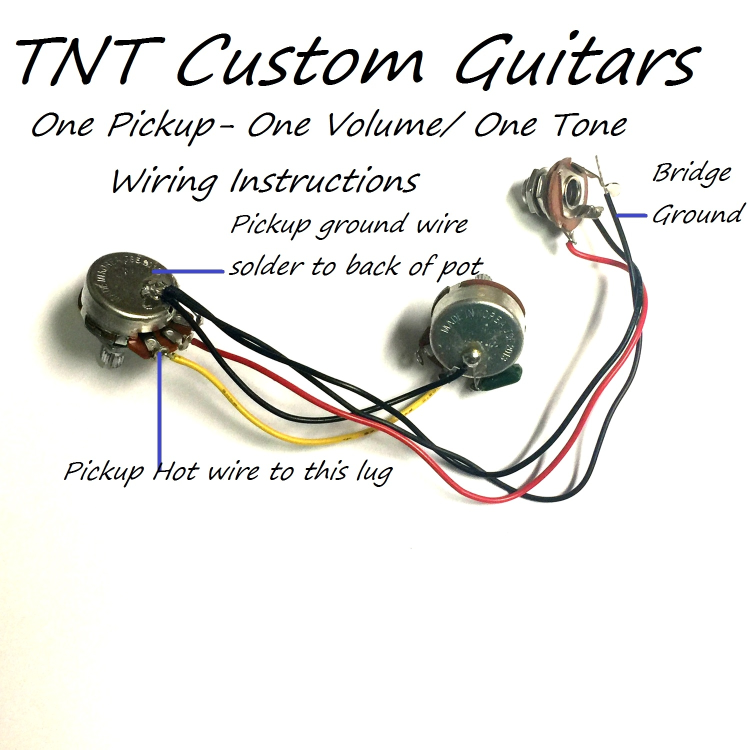 hight resolution of wiring harness with one humbucker pickup one twin coil pickup one