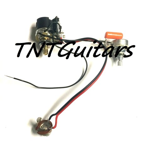 small resolution of 1v1t one pickup wiring harness cts push pull vt coil split