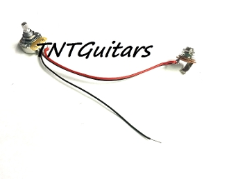 1V One Pickup Wiring Harness ~ CTS Control Pot ~ 1 Volume
