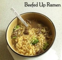 Beefed Up Ramen