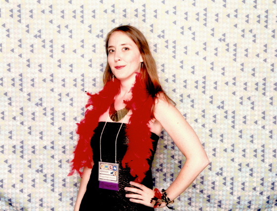 Bright red feather boa? Don't mind if I do.