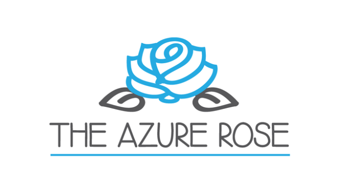 The Azure Rose Logo