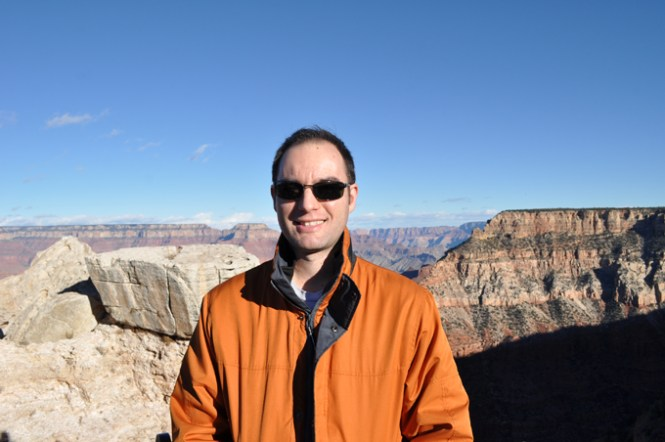 Ian at the Grand Canyon
