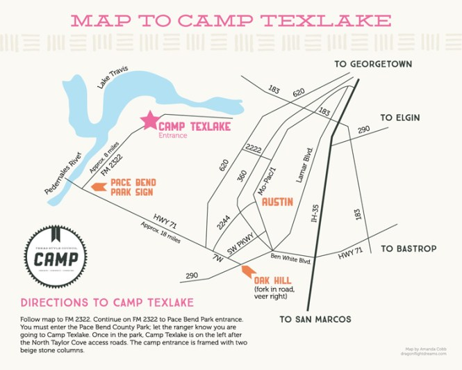 TxSC Map to CAMP