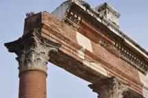 Column work at Pompeii.