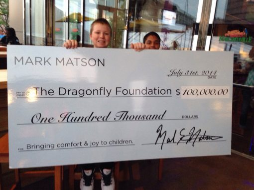 $100,000 donation from Matson Money