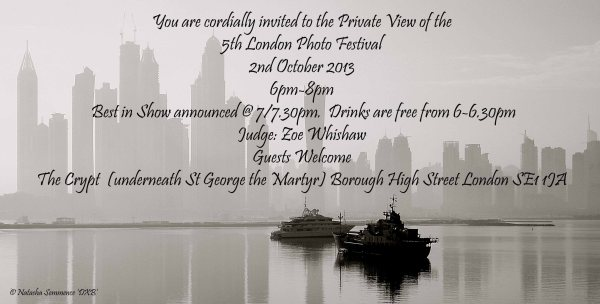Exhibition Invitation With Private View 2nd