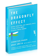 """The Dragonfly Effect"" Book Cover"