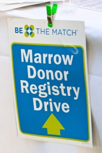Bone Marrow Registry Drive Sign for 100KCheeks