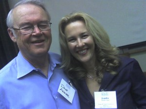 David Aaker and Jennifer Aaker at Berkeley Haas School of Business