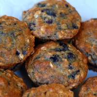 Recipe for Wild Black Raspberry Muffins