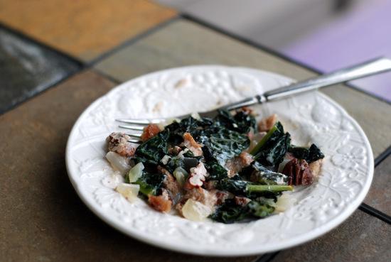 kale and pecan casserole 1