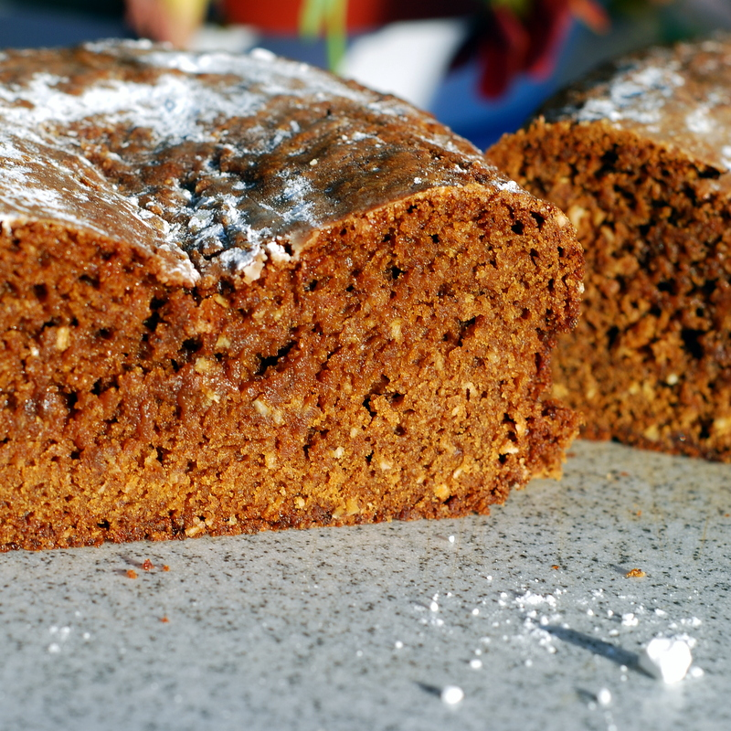Oatmeal Gingerbread