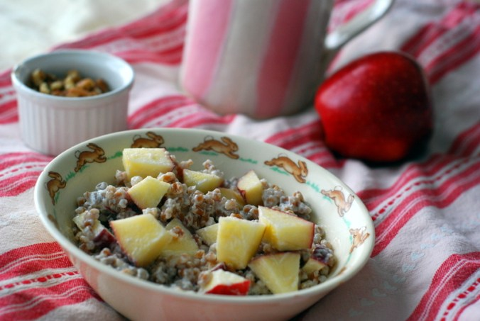 wheatberry breakfast bowl with mug 7