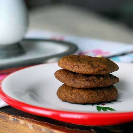 maple molasses cookies stack 2