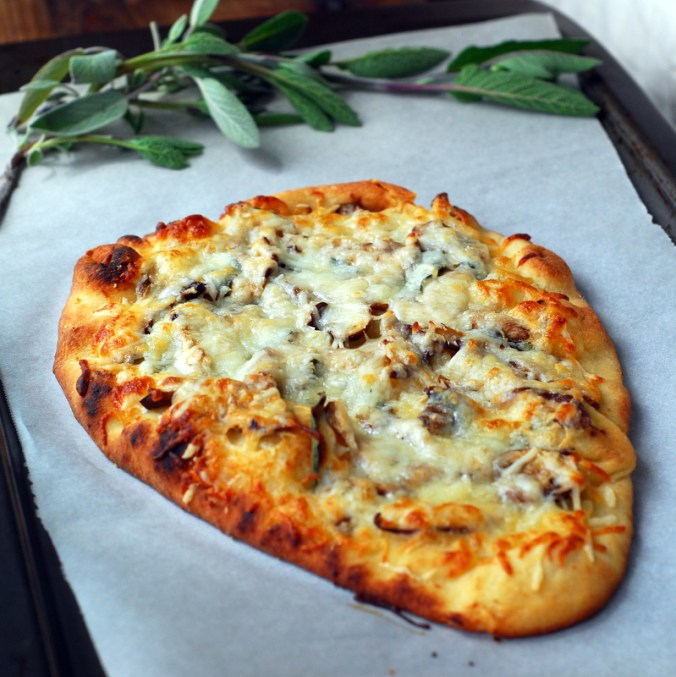 mushroom pizza whole