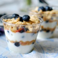 summer berry parfait