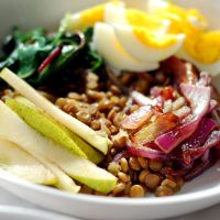 Green Lentil Power Bowls
