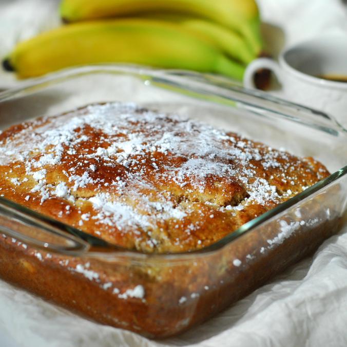 banana cinnamon snacking cake 1207