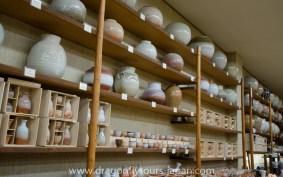Hagi-yaki pottery
