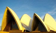 Sydney Opera House. Dawn sail.