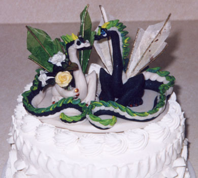 Dragonfolk Studios  Wedding Cake Toppers