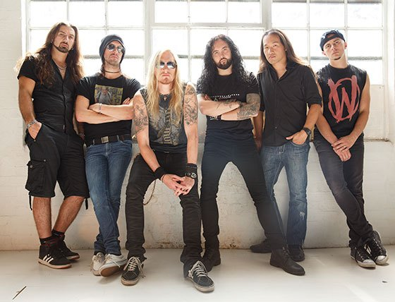 Bandmembers of DragonForce