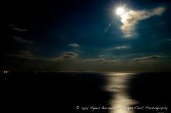 Full moon on the Amalfi coast