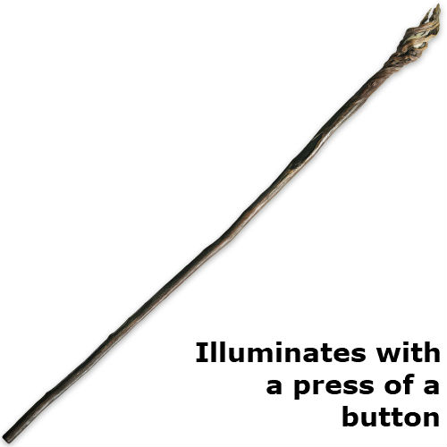 led wizard staff white