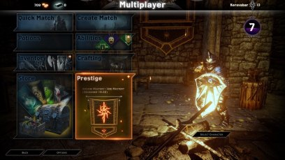 Dragon Age Inquisition Multiplayer co-op screen