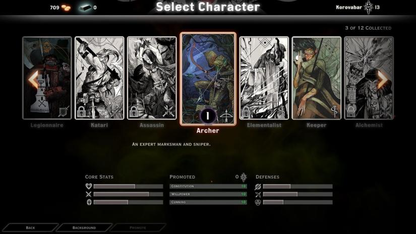 Dragon Age Inquisition - Multiplayer Co-op character selection