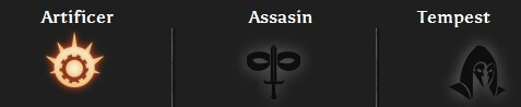 Dragon Age Inquisition - Rogues have 3 specializations: Arificer, Assassin, and Tempest