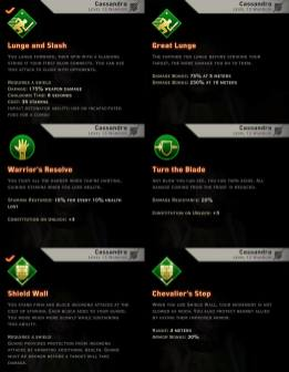 Weapon & Shield Skills