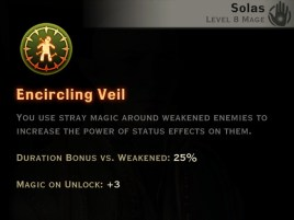 Dragon Age Inquisition - Encircling Veil Rift mage skill