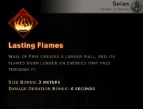 Dragon Age Inquisition - Lasting Flames Inferno mage skill