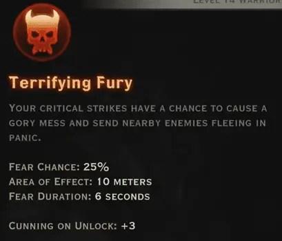 Terrifying Fury